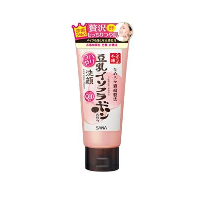 【保湿修复】SANA莎娜豆乳美肌 Q10弹力保湿泡沫洗面奶 洁面乳150g