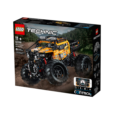 LEGO/樂高 Technic機械組系列42099 兒童拼插玩具智能遙控越野汽車 958顆粒 生日禮物 11歲以上適用