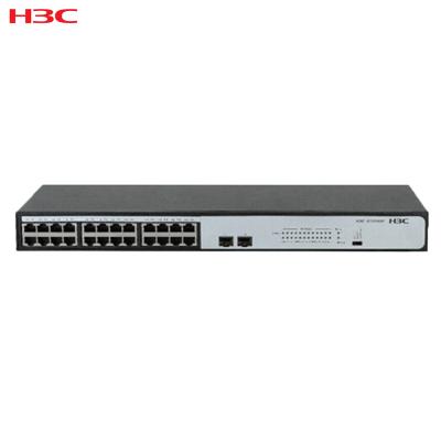 华三(H3C)S1324GF 24口全千兆机架式非网管交换机 替代S1224F 千兆以上 千兆以上非网管型交换机