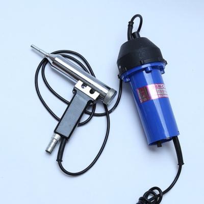 閃電客塑料焊熱風調溫700w汽車保險杠塑料焊接搶工具塑焊機補PP焊條 林海1000w分體焊槍