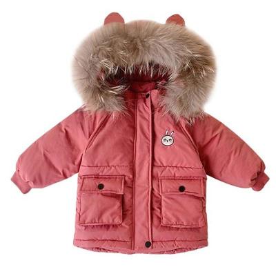 女童棉衣新款兒童秋冬裝寶寶加厚羽絨棉衣棉服洋氣外套童裝潮凝驄