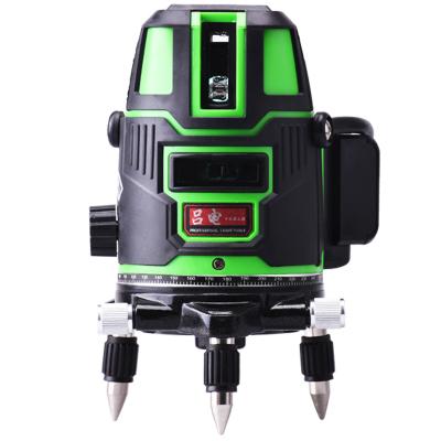 古达绿光红外线水平仪2线3线5线6点 激光水平仪室外强光投线仪打线仪