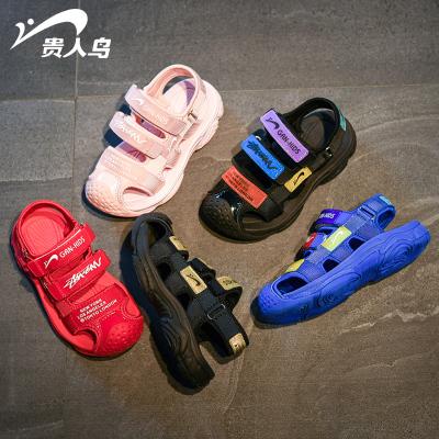 男童凉鞋包头软底中大童2019新款夏季韩版女童鞋小童宝宝儿童鞋子