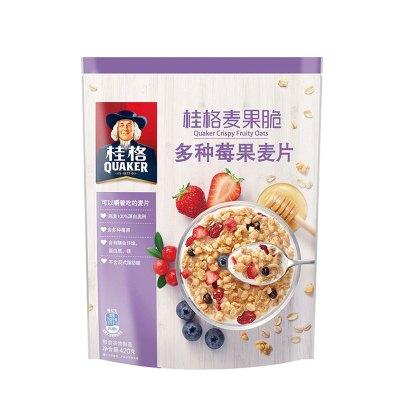 桂格(QUAKER)麦果脆多种莓果麦片420g