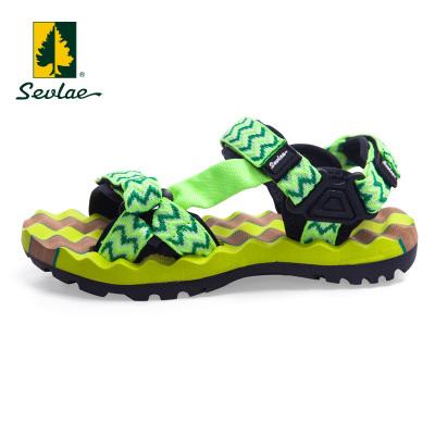 SEVLAE圣弗萊女士沙灘涼鞋夏季輕便防滑戶外運動涼鞋9121681505