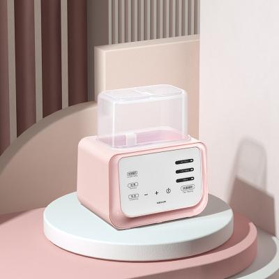 babycare恒溫溫奶器 消毒器二合一自動 奶瓶熱奶器 智能暖奶器圣維爾粉4900