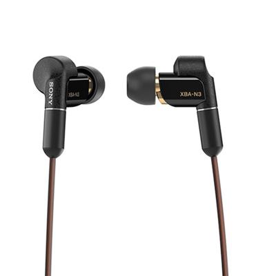 索尼(SONY)XBA-N3AP 高解析度立体声耳机 黑色