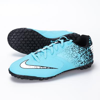 正品NIKE耐克BombaX碎钉TF小学生男女童儿童足球鞋826488-410