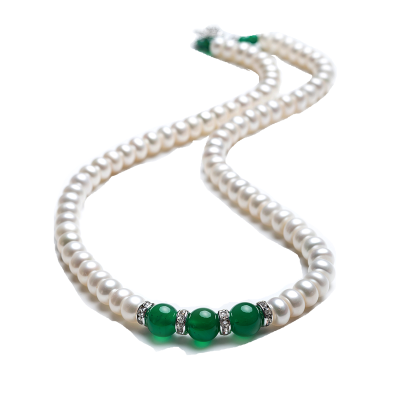 佰色传情(BRIR) 优雅气质淡水珍珠项链礼物送妈妈
