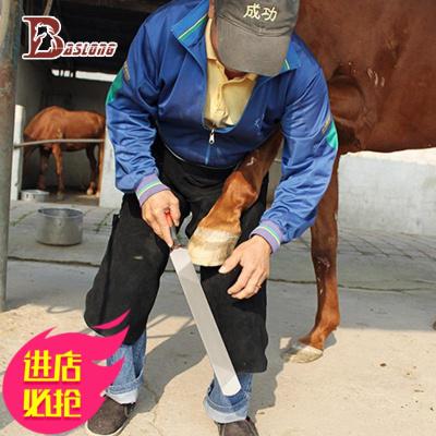 馬蹄刀 銼刀修蹄刀修蹄工具馬房用品圓頭帶把馬具用品 八尺龍