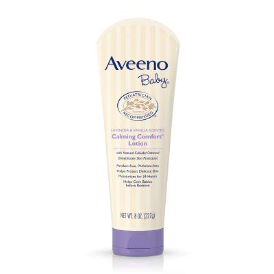 Aveeno艾維諾嬰兒護臉薰衣草&香草鎮靜保濕霜227g