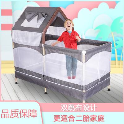 魅扣蹦蹦床小孩室內彈跳玩具小型兒童健身蹦極床蹭蹭床寶寶跳跳床