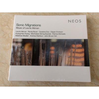 NEOS 11614 SONIC MIGRATIONS laurie Altman的音乐 2CD