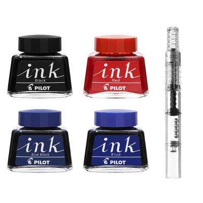 百樂(PILOT)INK-30鋼筆墨水CON-40上墨器 非碳素優質不堵筆 百樂鋼筆通用