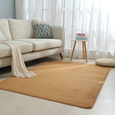 絨毛床邊地毯粉色長毛家用地毯臥室滿鋪可愛長方客廳茶幾地墊