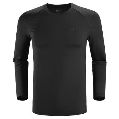凱樂石長袖功能T恤男戶外運動速干排汗透氣保暖登山長袖衫