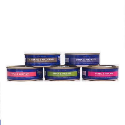 海洋之星進口狗罐頭營養濕糧狗零食100g*6罐5種口味