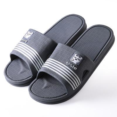 樂拖浴室拖鞋男夏季室內塑料厚底卡通家居家用洗澡防滑男士涼拖鞋