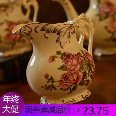 奶壶/小奶罐/拉奶壶/拉花壶奶盅奶缸欧式咖啡奶杯陶瓷汁斗
