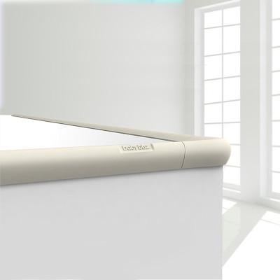 【棒棒猪】时尚硅胶防撞条(BBZ-28S)米白色 4条共2米