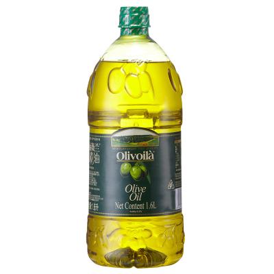 欧丽薇兰 橄榄油 1.6L 瓶装烹饪、煎炸、凉拌食用油口味清爽