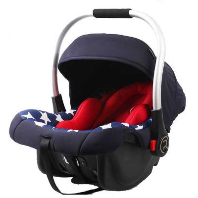 瑞贝乐(REEBABY)汽车儿童安全座椅 婴儿提篮 R006 美国队长