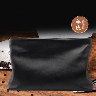 梵蒂加(VENTIGA)男包新款LZ-#616真皮牛皮男士手包男包薄款新品羊皮手拿包男包韩版手抓包