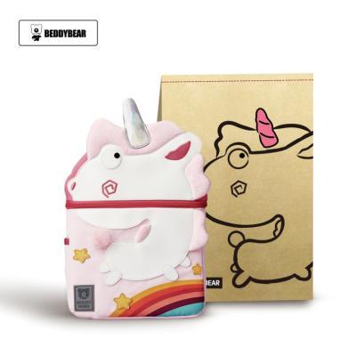 韩版BEDDYBEAR杯具熊儿童幼儿园书包小学生男童女童小孩3-5-8岁双肩包背包粉色独角兽书包