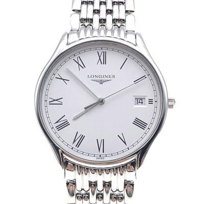 【二手95新】浪琴LONGINES優雅系列L4.759.4.11.6男表石英奢侈品鐘手表腕表
