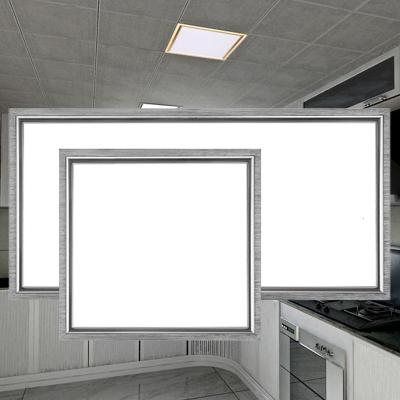 LED吸顶灯厨房灯嵌入式厨卫灯集成吊顶卫生间灯具厕所灯阳台浴室 30x30方灯12瓦白光