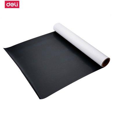 得力deli8721磁性軟白板軟鐵墻貼辦公留言可擦寫字繪畫貼白板貼