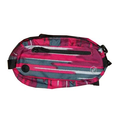 ASICS/亚瑟士 男女通用运动粉色印花腰包M EBM518-1196