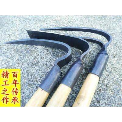 园林户外耙子农用园林园艺工具钓鱼除锄种菜短木柄农具小锄头