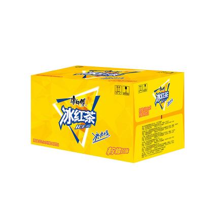 康師傅 冰紅茶檸檬味500ml*15瓶 箱裝 茶飲料(新老包裝隨機發貨)