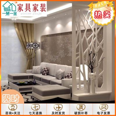 【新年享購】PVC衛生間客廳鏤空隔斷密度花板屏風玄關通花吊頂花格防水防潮#定制款式(請聯系客服):