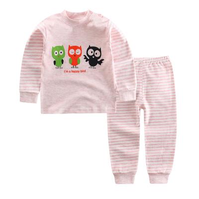 口袋虎春秋季新款儿童男女纯棉彩棉常规 内衣套装