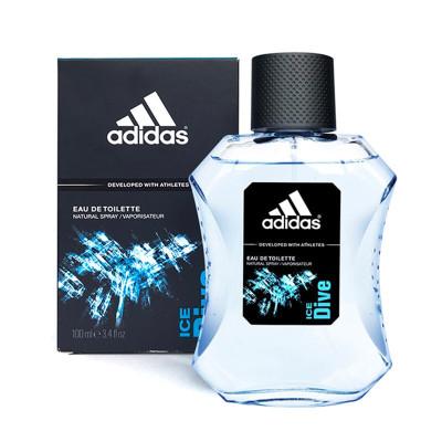 阿迪達斯(Adidas)男士運動淡香水冰點香水 100ML