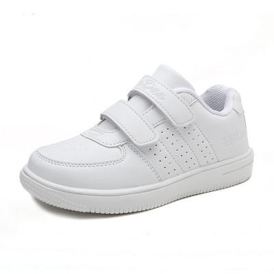 兒童白色運動鞋男童女童板鞋跑步鞋小白鞋秋冬透氣小學生