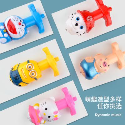 音樂陀螺卡通發閃光電動兒童玩具新款地攤夜市批發光過家家玩具小禮品