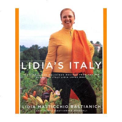 1001LIDIA'SITALY(ISBN=9781400040360)英文原版