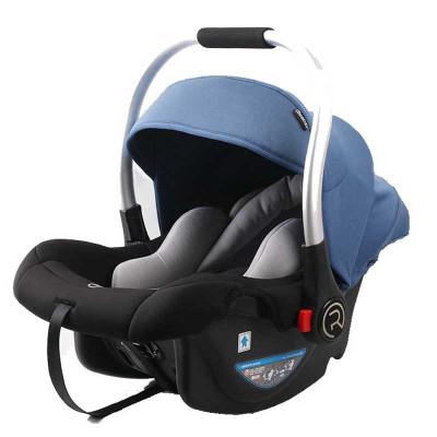 瑞贝乐(REEBABY)汽车儿童安全座椅 婴儿提篮 R006 博学蓝