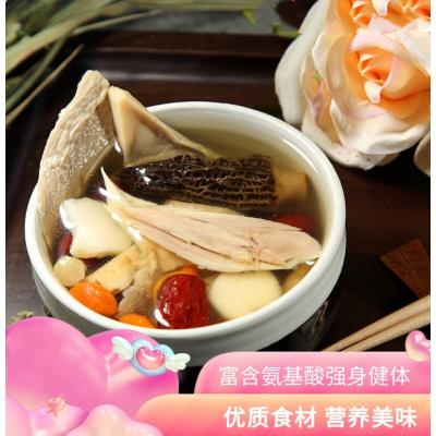 羊肚菌瑤柱杏鮑菇湯煲湯材料廣東滋補靚湯養生燉湯補品干貨