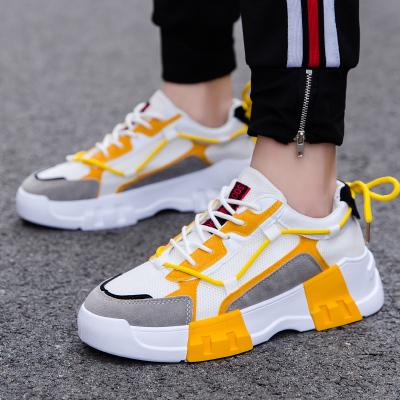 VIDAL SASSOON男鞋SAG-A222088A秋季2019新款透氣網布休閑鞋跑步運動鞋韓版潮學生鞋老爹男單鞋子