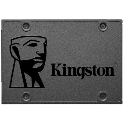 金士顿(Kingston) A400系列 480GB SATA接口 台式机笔记本电脑SSD固态硬盘
