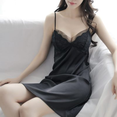成人性感女夏秋冬吊帶睡衣胸墊情趣家居內衣內褲誘惑睡裙套裝威珺