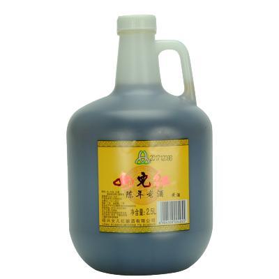 女兒紅 陳年老酒 2.5L桶裝2年陳釀 5斤可做烹飪料酒 紹興黃酒