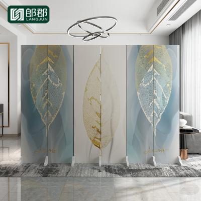郎郡屏風隔斷墻歐式雙面辦公室客廳臥室遮擋家用折疊移動布藝簡易折屏