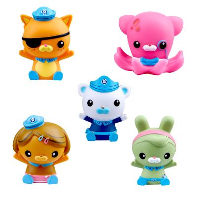 拼图海底小纵队儿童洗澡玩具宝宝戏水玩具3-6-9-12个月0-1岁喷水枪男孩女孩玩具益智(单个款式随机发货)