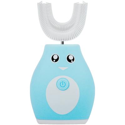 3Q寶貝 兒童智能超聲波U型電動牙刷 藍色