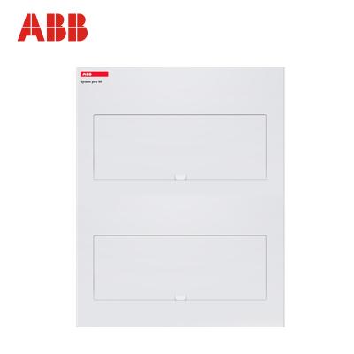 【ABB官方旗艦店】ABB強電箱/配電箱/雙層40回路箱/ACM40-FNB-ENU【金屬暗裝空箱】